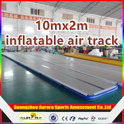 10x2m customized size Inflatable tumble Track with DWF high quality