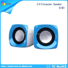 Hot sale computer products for South America market 2.0 usb mini portable wire speaker