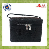 Wholesale Classical Promotional Fashion Case Make Up PU Cosmetic Bag