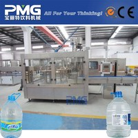 Automatic 5L bottle mineral water production line/ filling machine
