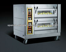 horno de panadería convección precio de fábrica de alta calidad eléctrica / gasTSQ-4P