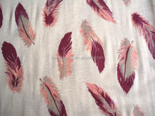 100%polyester material fabric pigment printed fabric brushed fabric for mattress,curtain