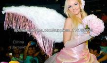 Alas de angel con flecos