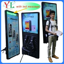 LED rectangle board, walking panel for advertisement
