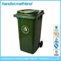 240 liters Plastic dustbin with wheels waste bin,dustbin wheel,large dustbin