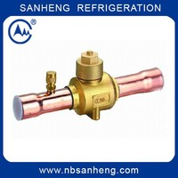 Ball Valve ODF with Charging Port for Refrigeration of SH 17203