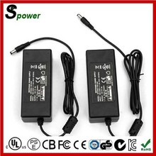 High Efficiency 60W Switching Mode Power Supply SAA 12V 5A AC Adapter With 5.5*2.1mm Connector