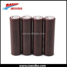 Hot!!! High Quality LG HG2 18650 Battery 3000mAh Rechargeable 3.7v Battery Powered ipv4 box mod
