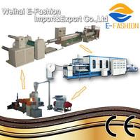 Hot Sale Plastic Foam Lunch Box Production Line(EF-640X850)