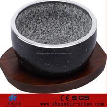 Sıcak satış döküm alüminyum olmayan- sopa granit taş tencere