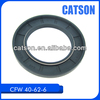 BABSL cfw fkm silicon rubber seal size 40-62-6