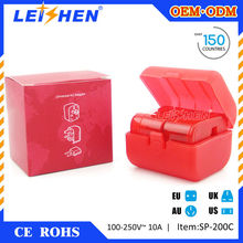 Leishen Brand 2015 the cheapest special design travel adapter gift for promotional item for promotional gifts