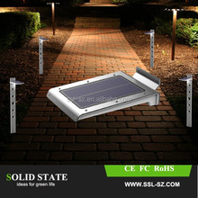 2015 top selling made in china solar lights , outdoor 46led 250lm home solar powered garden wall street path lights