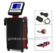 EG11 Ultrasonic vacuum suction cavitation+RF slimming machine three swordmen!fat burning is piece of cake!