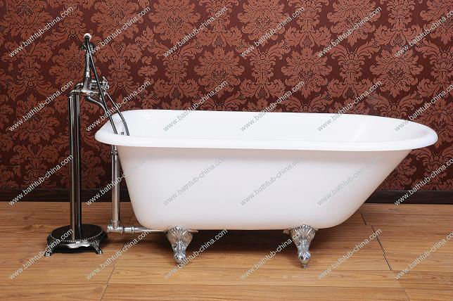 Classico cast vasca di ferro smaltato a casa uso vasca - Vasca da bagno con gambe ...