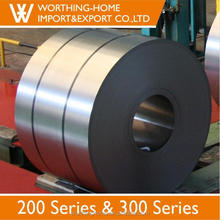 cold rolled ss430 304 stainless steel coil for part fabrication