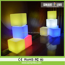 20cm,30cm, 40cm, 50cm, 60cm, Night Club, Party LED Cube,waterproof led cube chair lighting, LED furniture
