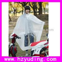 100% EVA poncho waterproof bicycle ponchos