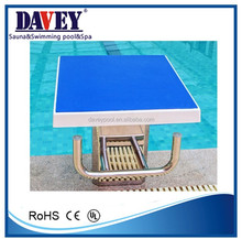 2015 new swimming pool product starting block for swimming pool