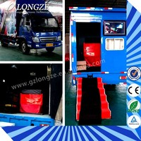 New Products Hydraulic/Electronic 5D/6D/7D/8D 6D Mobile Cinema Truck