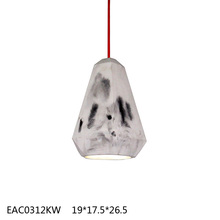 Natural cement cute handicraft lampshade from brand supplier