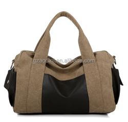 New design canvas wholesale tote bags canvas shoulder bag for men