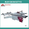 mj6132tyo corredera mesa de madera de la máquina de corte de sierra del panel