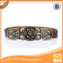 2014 China Wholesale mens embossed genuine leather belt