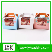 High Quality Recyclable Custom Foldable Mini Paper Bag, Cupcake Boxes