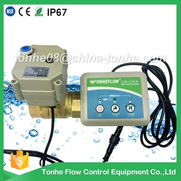 W20-B2-B water leakage systerm with motorized valve