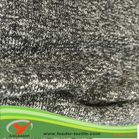 cotton knitting terry fabric lurex fabric cotton polyester knitting fabric