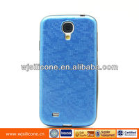 Handphone casing TPU+PU with IMD for Samsung S4