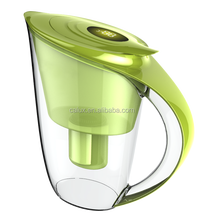 New design low negative ORP portable alkaline water filter pitcher