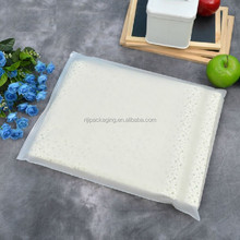 Recyclable patch handle HDPE plastic shopping carrier bags