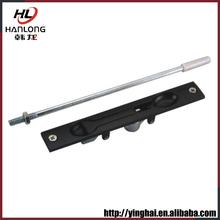 Exclusive design aluminum flush bolt door