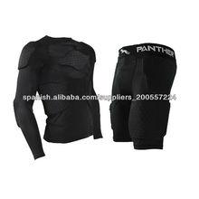 camisas de encargo del fútbol americano y pantalones cortos