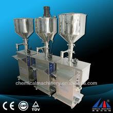 FLK high quality cosmetic filling machine, cream filling line, filling capping sealing machine