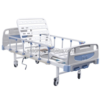 cheap discount two crank manual hospital bed, hospital bed lift, used hospital beds for sale