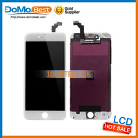 First-Class cell phone repair parts for iphone 6 lcd replacement white, fast delivery