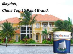 External wall decorative exterior flat colours paints for home