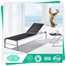 Hot sale stainless steel outdoor furniture daybed / swimming pool chair / lounge for garden