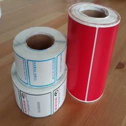 Adhesive Label Thermal Stickers 58x40mm Waterproof