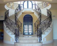Indoor Spiral Stairs