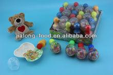 Bolos diferentes tipos de pezón con colorido pequeño caramelo