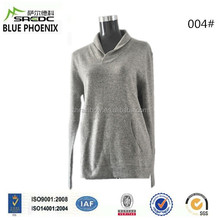 BLUE PHOENIX super soft hoodie pullover 100% cashmere women sweater