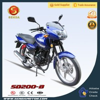 Made in China Good Reputation Street Bike 200CC Motorcycle SD200-B