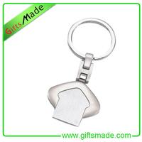 Dye Sublimation Metal Ornaments Customized Metal Keychain