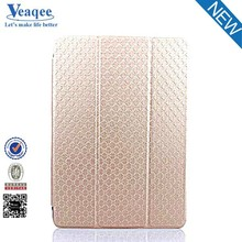 Veaqee trending hot products pu case folding stand leather case for ipad mini