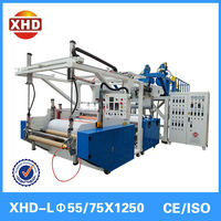 Plastic cast film extruder stretch film extrusion line