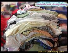wenbaoda used clothing factory from china TSHIRT